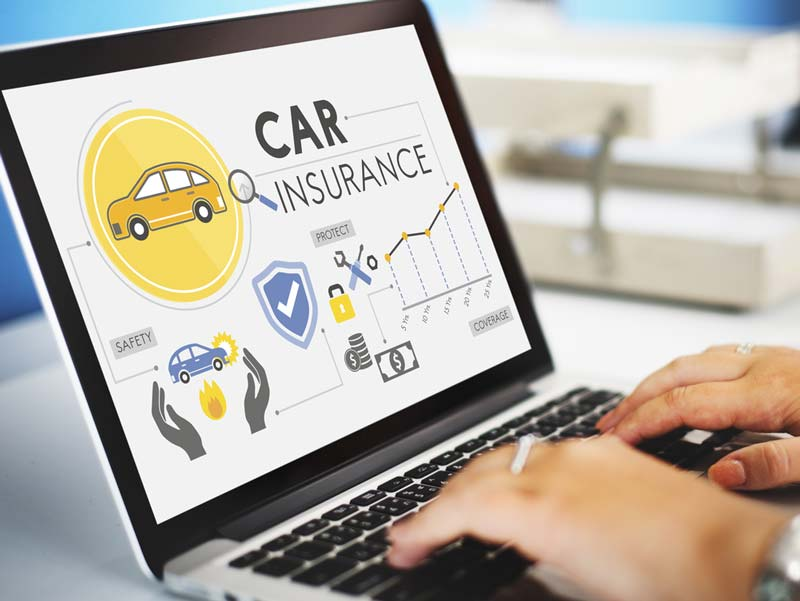Car Insurance On A Computer