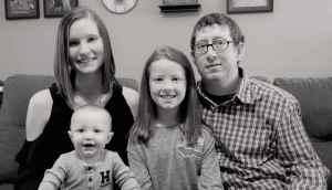 Tina Bright and family